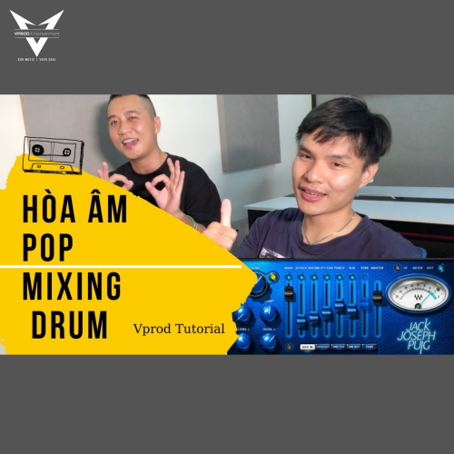 Mixing Drum Với JJP Drums - Vlog Producer