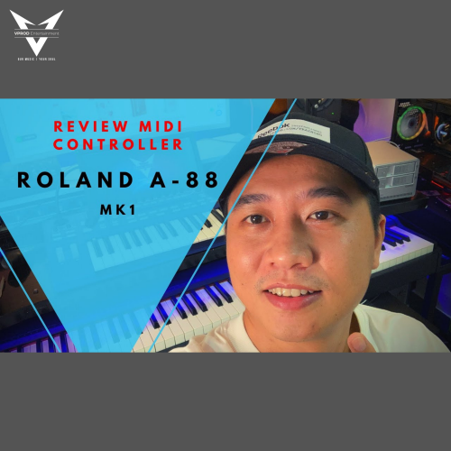 Review Midi Keyboard Controller Roland A-88
