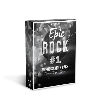 EPIC ROCK #1 - LOOPS & SAMPLES - VPROD SAMPLE PACK