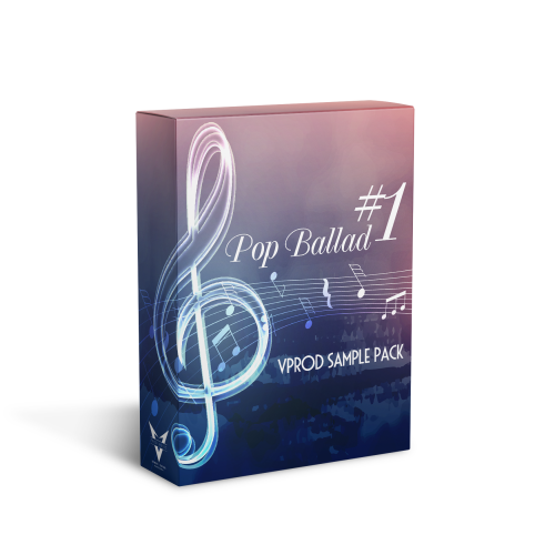 POP BALLAD #1 - LOOPS & SAMPLES - VPROD SAMPLE PACK