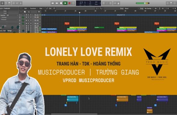 Lonely Love Remix - Music Producer I Trường Giang #28